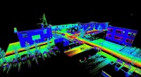 iMAR's facilities, scanned with p3d's ProScan Kinematic Laser Scanner (using an iMAR IMS)