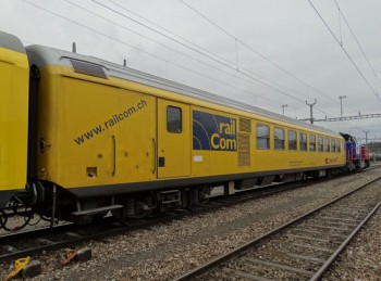SBB: RF Detetor Rail Vehice, being online geo-located by iMAR's iNAT-RQT-4003