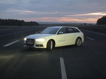 PEGASUS: Standards for the safeguarding of highly-automated vehicles - iMAR / Audi setup
